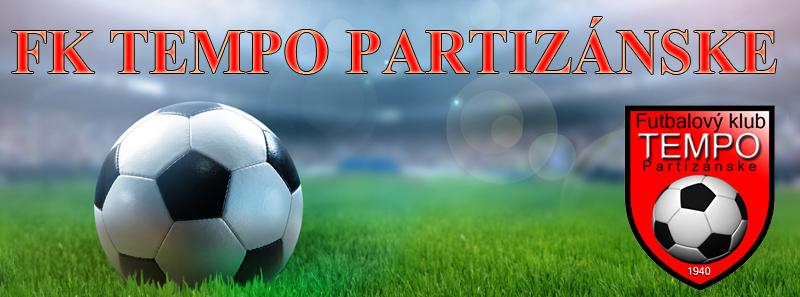 Futbal: FK Tempo Partizánske - TJ Partizán Domaniža @ futbalový štadión Karola Jokla